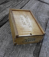 Деревянная коробка состаренная, фото 1