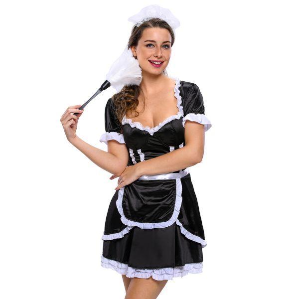 Кокетливый костюм флиртующей горничной