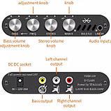 Підсилювач звуку VHM 339 Bluetooth 5.0 TPA3116D2 HIFI 2.1 канал 2*50/100 Вт Сабвуфер  параметричний темброблок, фото 2