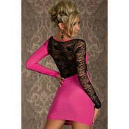 РАСПРОДАЖА! Розовое платье, фото 2