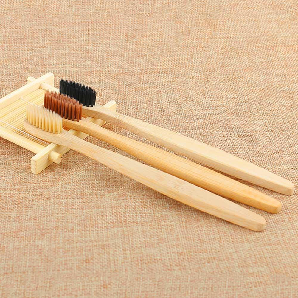 Зубная бамбуковая щетка