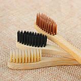 Зубная бамбуковая щетка, фото 3