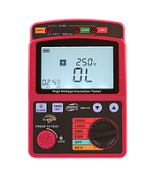 Мегаомметр измеритель сопротивления (0-99,9 ГΩ) BENETECH GM3123