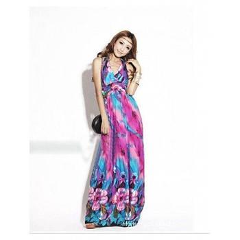 РАСПРОДАЖА! Гламурное длиное платье