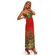 РАСПРОДАЖА! Летнее оранжевое платье, фото 3