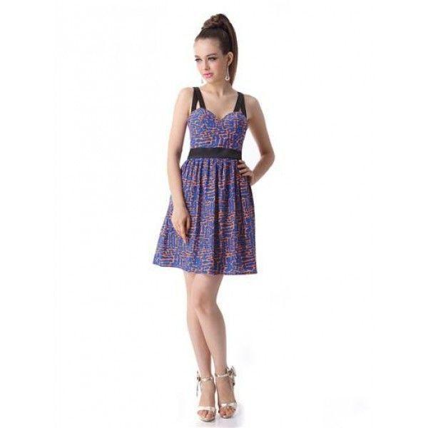 РАСПРОДАЖА! Очаровательное платье со стильным принтом