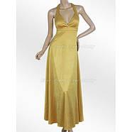 РАСПРОДАЖА! Вечернее платье - Горчица, фото 2
