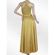 РАСПРОДАЖА! Вечернее платье - Горчица, фото 3