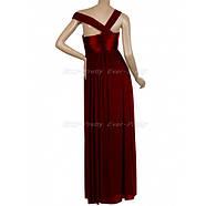 РАСПРОДАЖА! Ярко-красное вечернее длинное платье с открытым плечом, фото 3