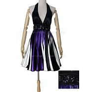 РАСПРОДАЖА! Коктейльное платье с ярким принтом и открытой спиной, фото 2