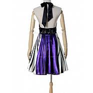 РАСПРОДАЖА! Коктейльное платье с ярким принтом и открытой спиной, фото 3