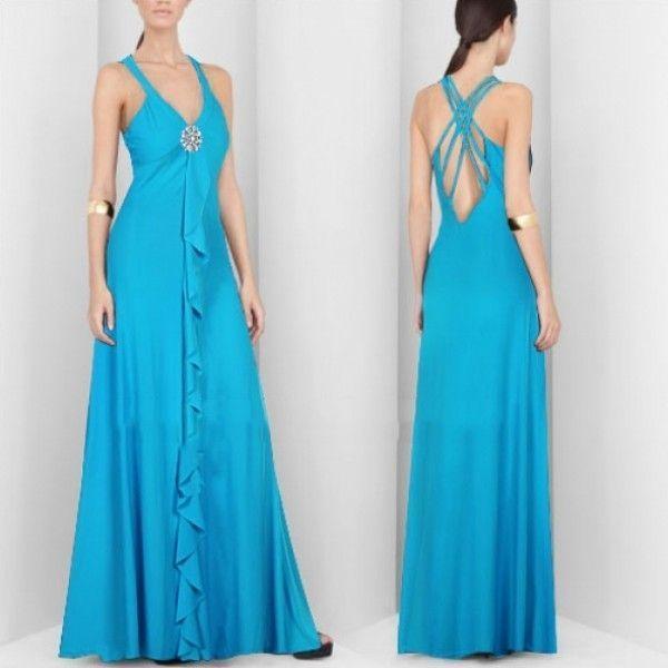 РАСПРОДАЖА! Элегантное голубое платье