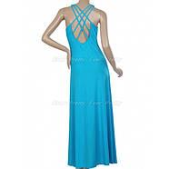 РАСПРОДАЖА! Элегантное голубое платье, фото 3