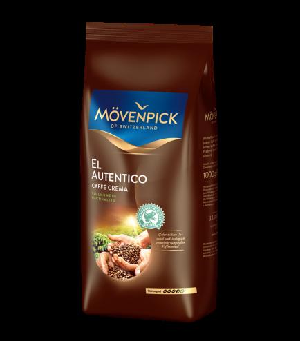 Кофе в зернах Movenpick Autentico 1000 г