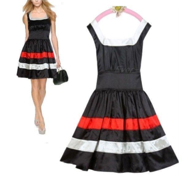 РАСПРОДАЖА! Черное маленькое плиссированное платье