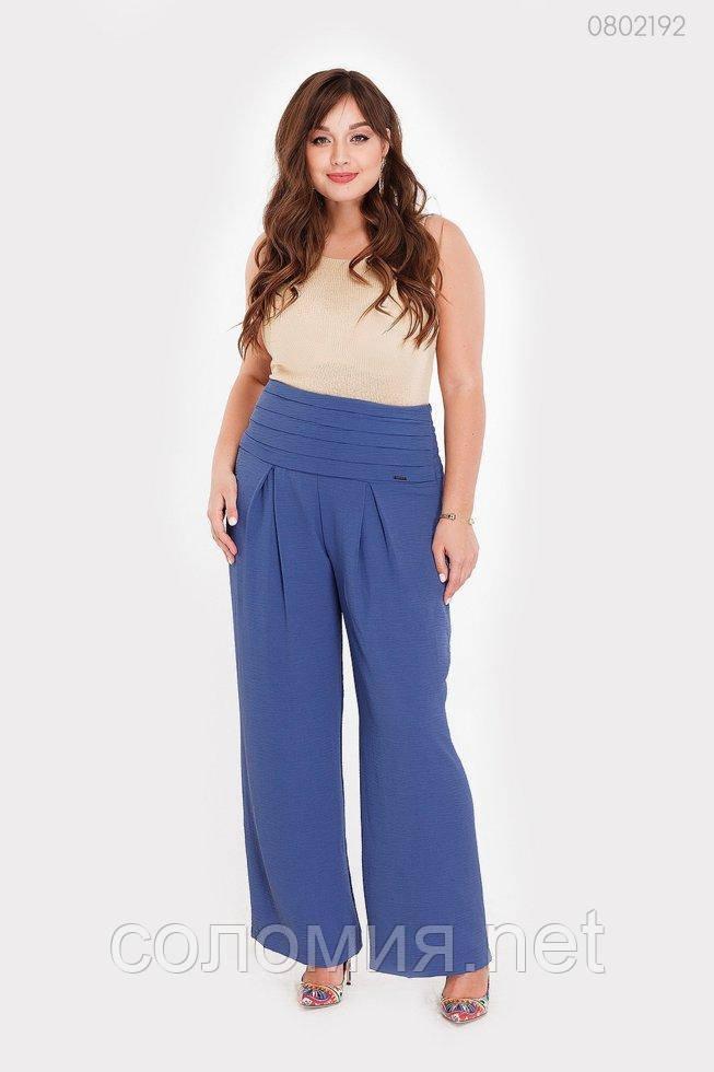 Женские брюки Глион (индиго) 0802192
