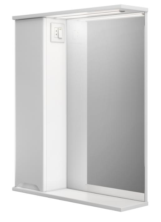 Зеркальный шкафчик в ванную Prmc-55 LED Prime ВанЛанд