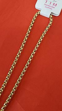 Ювелирный позолоченный жгут с модным переплётом. Брендовая позолоченная бижутерия Xuping оптом. 23