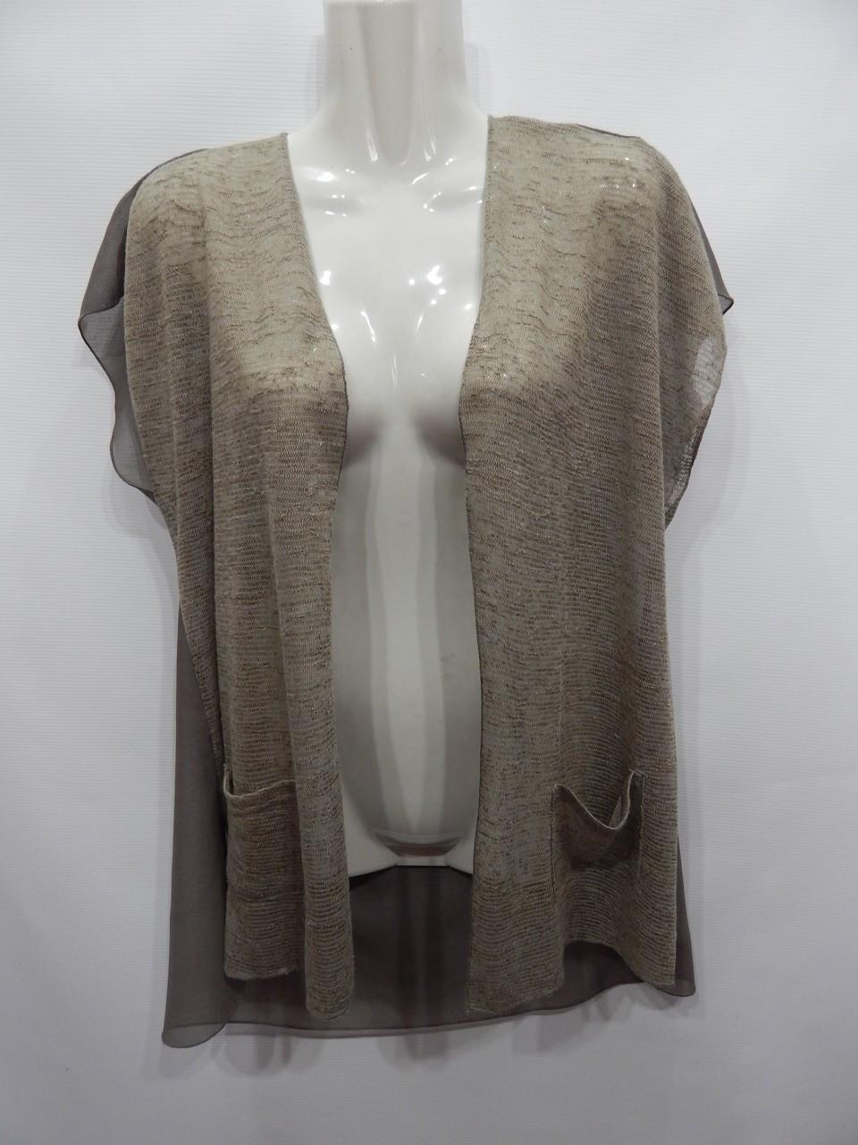 Блуза-накидка легкая фирменная женская Jasmine 48-50 р., 179бж