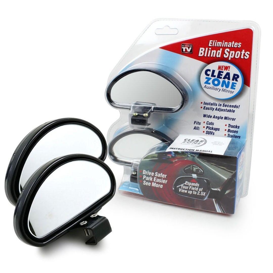 Дополнительные автомобильные зеркала заднего вида для мертвых зон Blind Spot Mirror Black (Реплика)