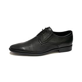 Туфли мужские Mida черные кожа