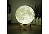 3D светильник-ночник  Луна (без пульта), фото 7