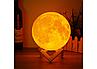 3D светильник-ночник  Луна (без пульта), фото 8