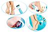 Электрическая роликовая пилка - пемза с USB для удаления огрубевшей кожи стоп Scholl (Реплика), фото 3