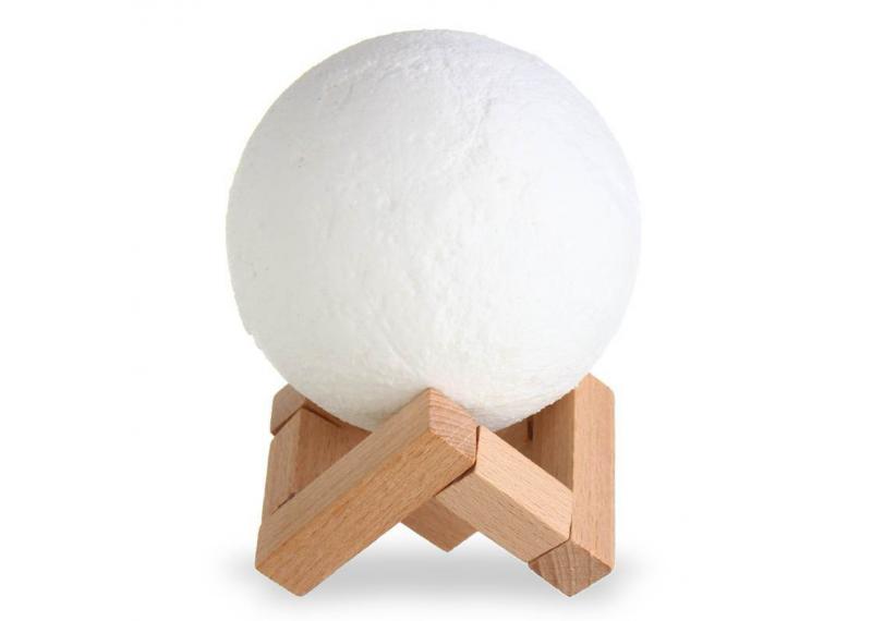 3D светильник проектор  Луна | Ночник Magic 3D Moon UFT