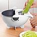 Универсальная кухонная овощерезка измельчитель| Мультислайсер (Реплика), фото 5