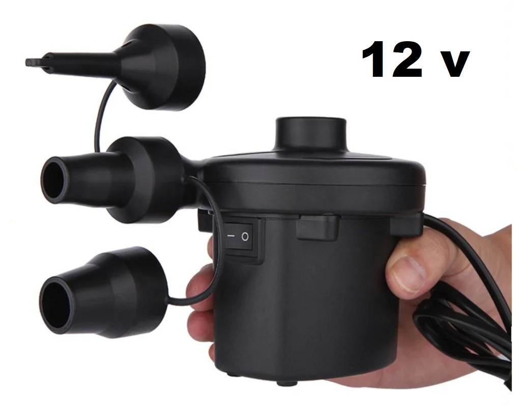 Автомобильный компрессор для надувных матрасов Air Pomp 207 12V