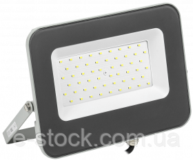 Прожектор СДО 07-50 світлодіодний сірий IP65 IEK