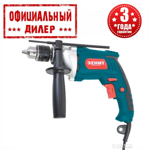 Дрель сетевая ударная Зенит ЗД-1000