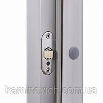 Стеклянная дверь для хамама GREUS Premium 70/190 бронза, фото 2