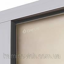 Стеклянная дверь для хамама GREUS Premium 70/190 бронза, фото 3