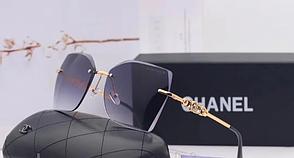 Женские стильные солнцезащитные очки (17251) grey