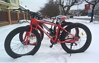 Спортивный велосипед фетбайк Profi EB26POWER 1.0 S26.4 красный