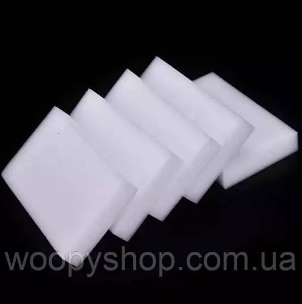 Меламиновая губка (узкая) 10см*6см*1см