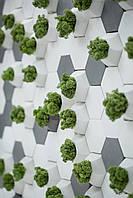 Настенные панели декор для стен 3Д панели 3D плитка 3Д панель шестигранник 7,2см
