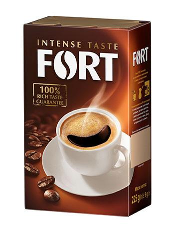 Кофе Форт молотый 275 грамм в вакуумной упаковке