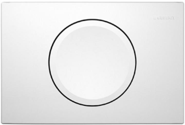 Кнопка змиву 115.120.11.1 GEBERIT Delta 11 змив/стоп біла
