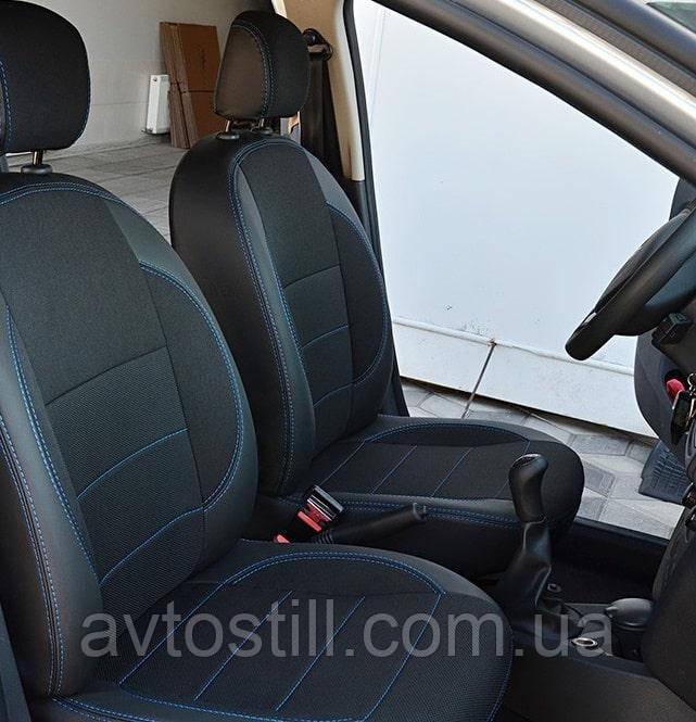 Авточехлы на сидения Renault Logan второе поколение (2012-2014)