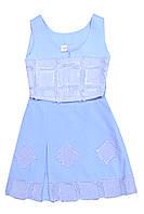 """Костюм детский для девочки летний юбка с топом  М -155-90    тм """"Попелюшка"""", фото 1"""