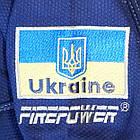 Кимоно для Бразильского Джиу-Джитсу Firepower Ukraine Темно-синее, фото 9