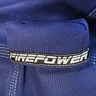 Кимоно для Бразильского Джиу-Джитсу Firepower Ukraine Темно-синее, фото 8