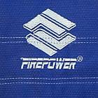Кимоно для Бразильского Джиу-Джитсу Firepower Ukraine Темно-синее, фото 6