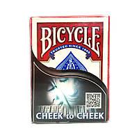 Карты для фокусов Bicycle Cheek to Cheek