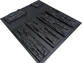 "Форма для штучного каменю Pixus 3D ""Афіни"" 40 x 40 x 1.5 см"
