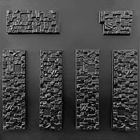 """Форма для искусственного камня Pixus 3D """"Пиксель"""" 40 x 35 x 1.5 см"""