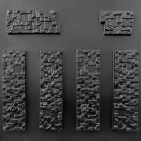 "Форма для штучного каменю Pixus 3D ""Піксель"" 40 x 35 x 1.5 см"